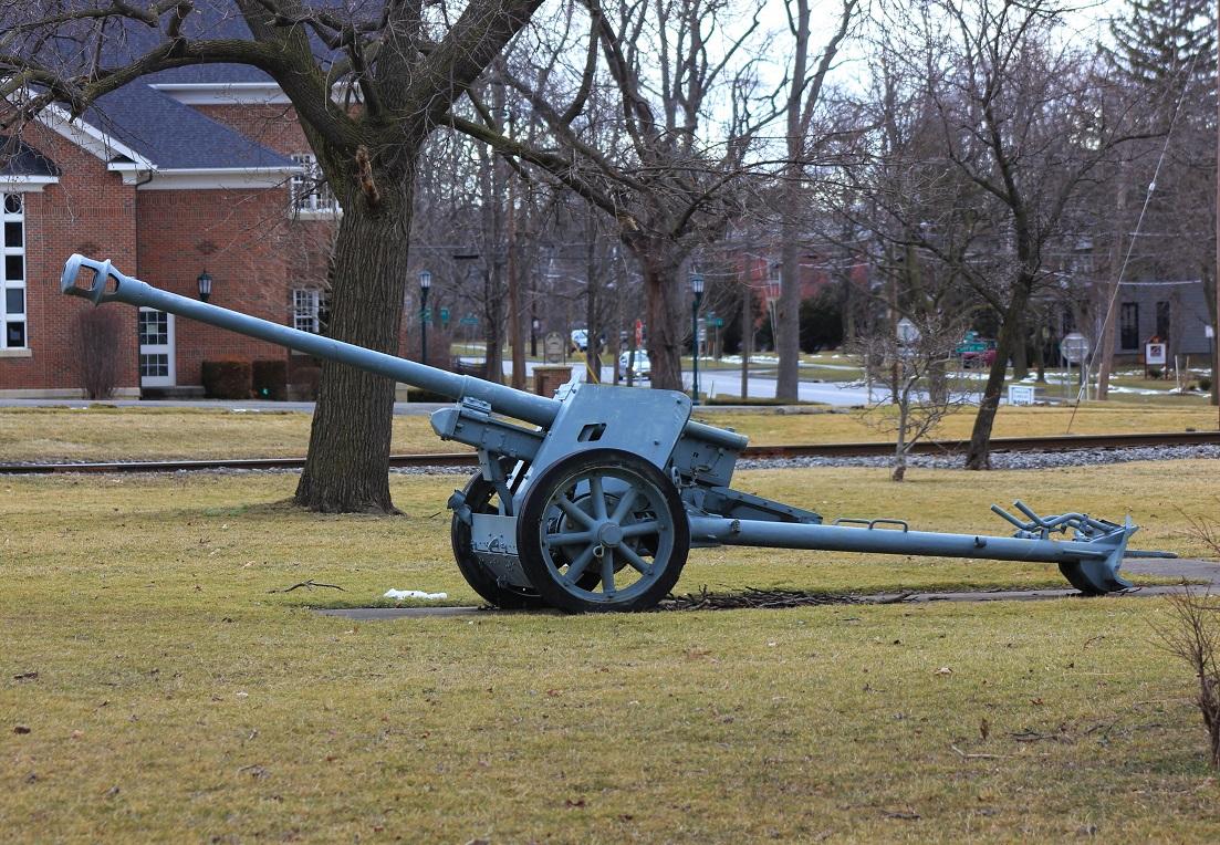 German 50 Mm Anti Tank Gun: A Pak-40 7,5 Cm Anti-tank Cannon