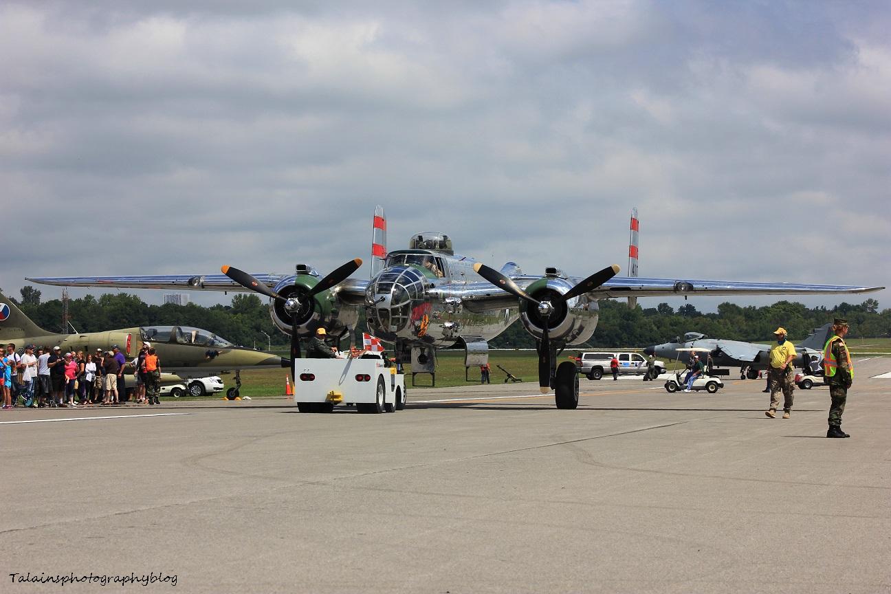 R.A.S. 107 B-25